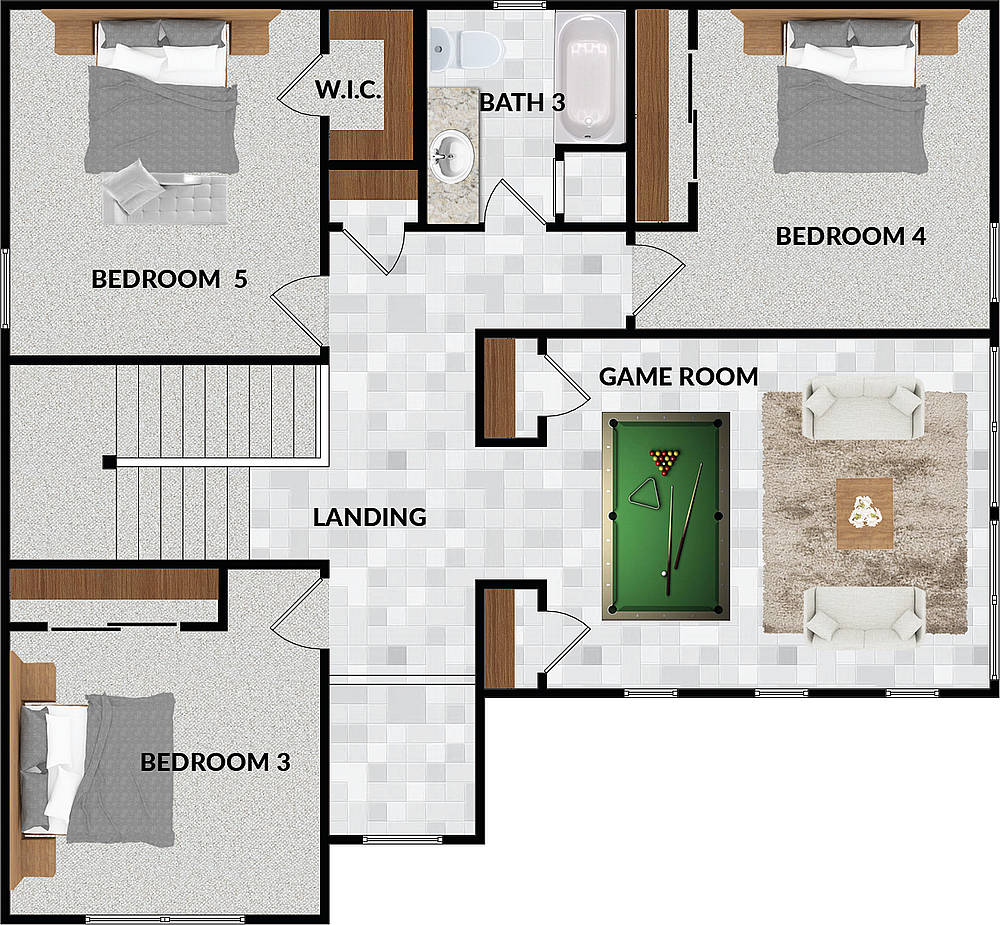 Plan 3-Second Floor